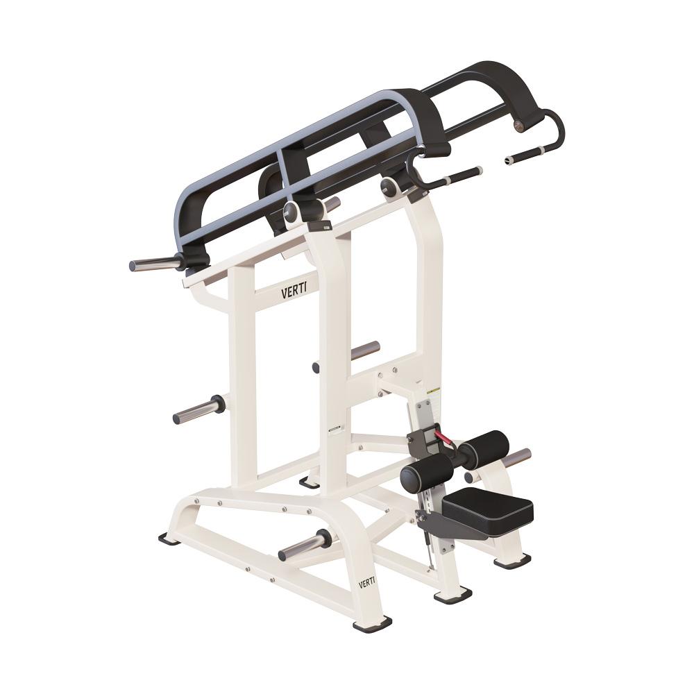 Plate Load maskiner, Lat Pull Down, Verti Line, CK Fitness
