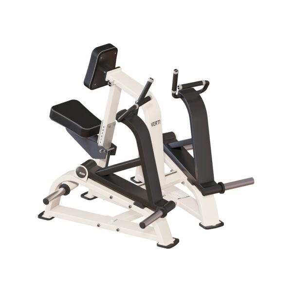 Verti Line Plate Load, Row Machine, CK Fitness, styrketræningsmaskiner