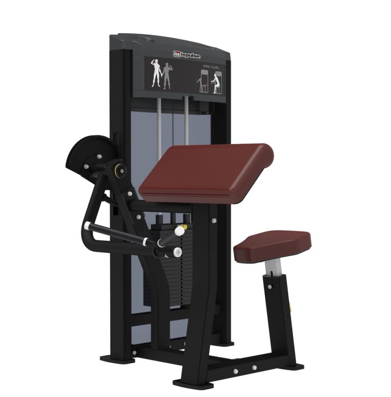 Køb Impulse Biceps machine
